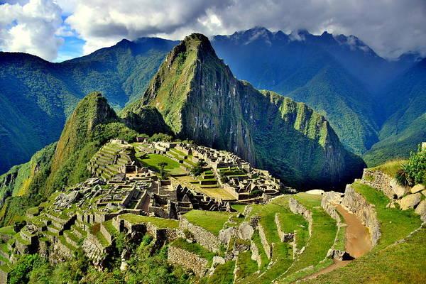 Brillante Photograph - Bright Photo Of Machu Picchu City by HQ Photo