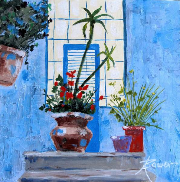 Painting - Bright Window by Adele Bower