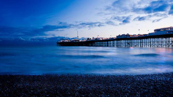Brighton Pier Photograph - Brighton Pier by Francesco Emanuele Carucci