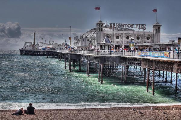 Brighton Pier Photograph - Brighton Pier by Jasna Buncic