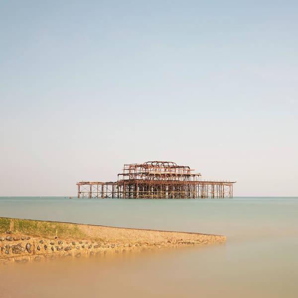 English Culture Photograph - Brighton Pier by  Ultraforma