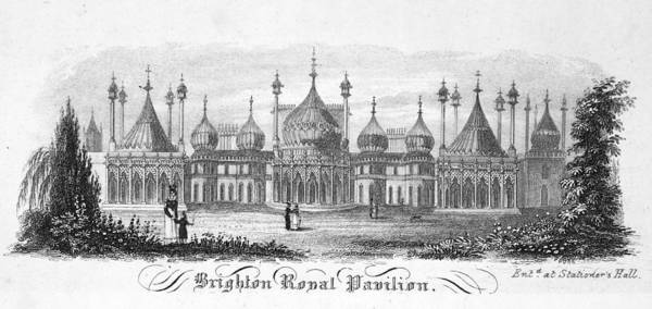 Brighton Painting - Brighton Royal Pavilion by Granger