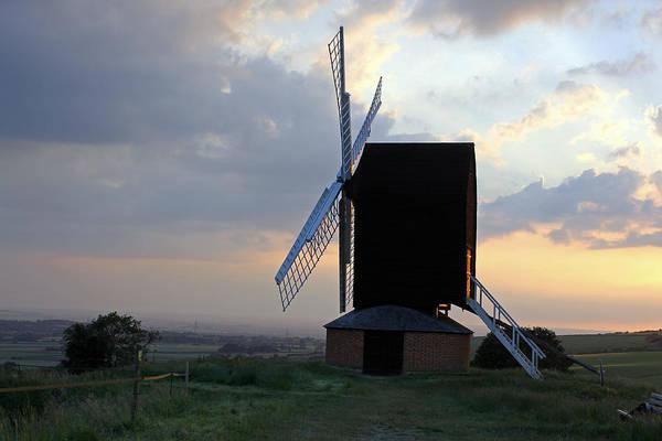 Photograph - Brill Windmill At Twilight by Tony Murtagh