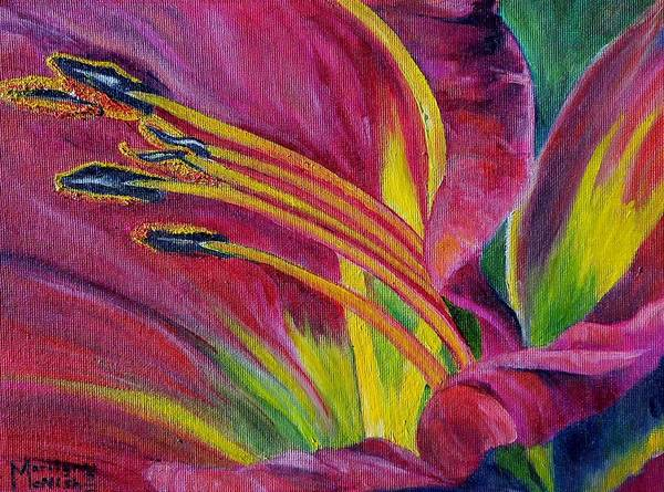 Painting - Brilliance Within by Marilyn  McNish