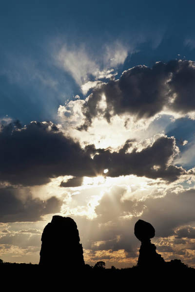 Dawn Photograph - Brilliant Cloud Formations Behind by William Tang / Design Pics