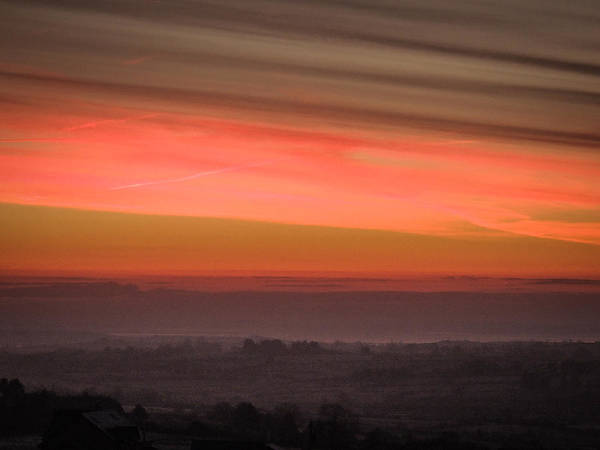 Photograph - Brilliant Irish Winter Sunrise by James Truett