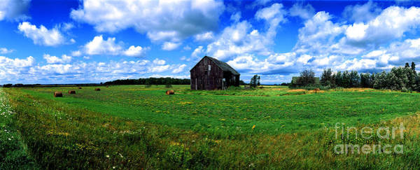 Brimley Farm Near  Sault Ste Marie Michigan  Art Print
