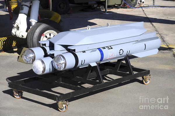 Brimstone Photograph - Brimstone Air-to-ground Missile by Riccardo Niccoli