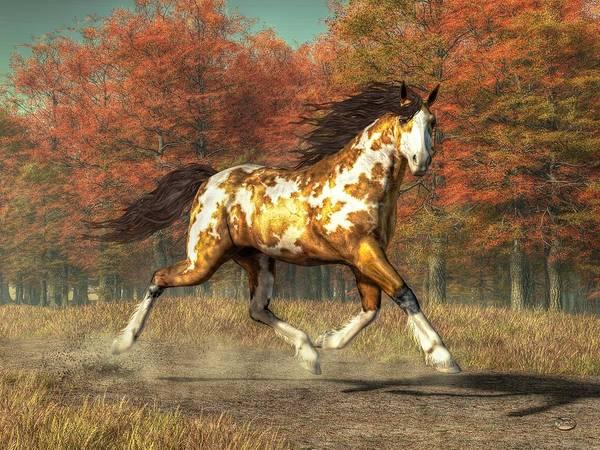 Digital Art - Bringer Of Fall by Daniel Eskridge