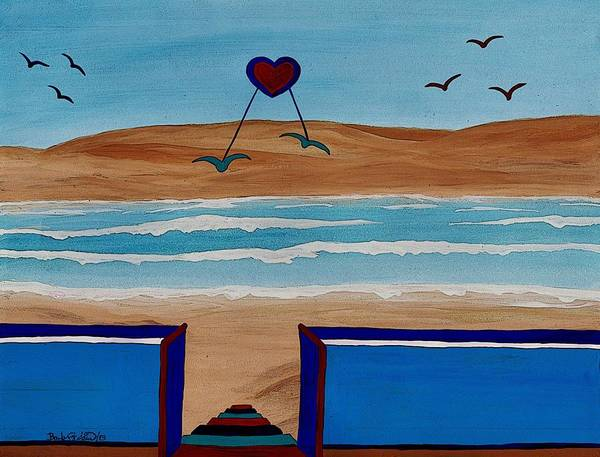 Painting - Bringing The Heart Home by Barbara St Jean