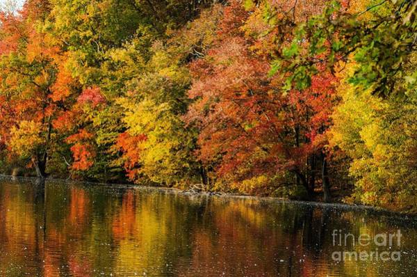 Brinton Photograph - Brinton Lake 2 by Judy Wolinsky