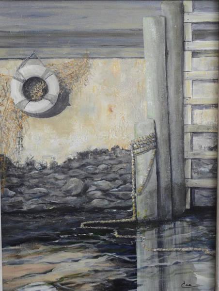 Painting - Bristol Docks II by Cae Wuerth