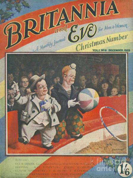 Britannia & Eve 1929 1920s Uk Dwarves Art Print by The Advertising Archives