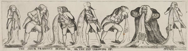 Painting - British Cartoon, 1789 by Granger