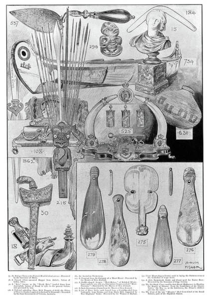 New South Wales Drawing - British Colonial Gifts by Granger