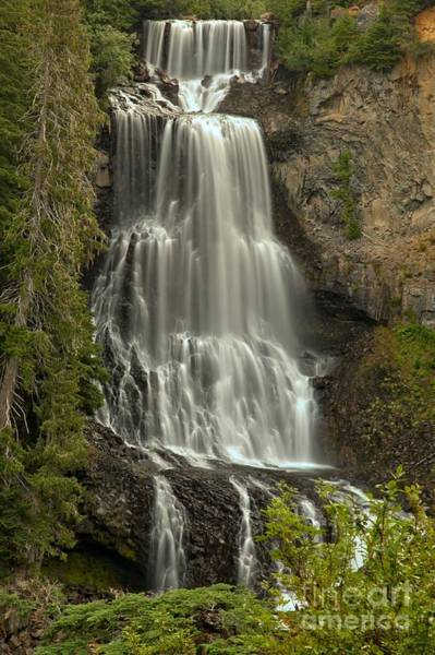 Photograph - British Columbia Alexander Falls by Adam Jewell