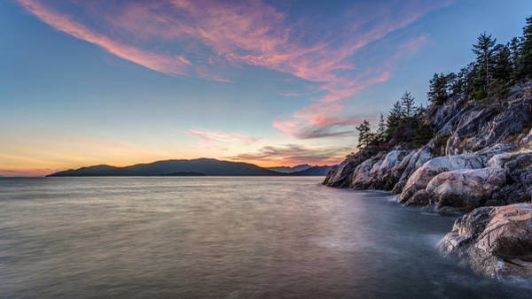 Photograph - British Columbia Sunset by Pierre Leclerc Photography