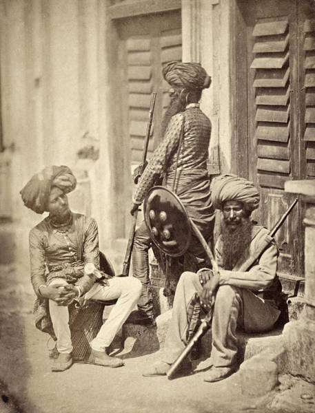 Wall Art - Photograph - British Indian Army, C1858 by Granger