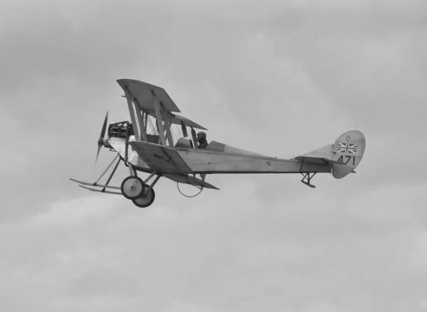 Bleriot Photograph - British Military Aeroplane by Maj Seda