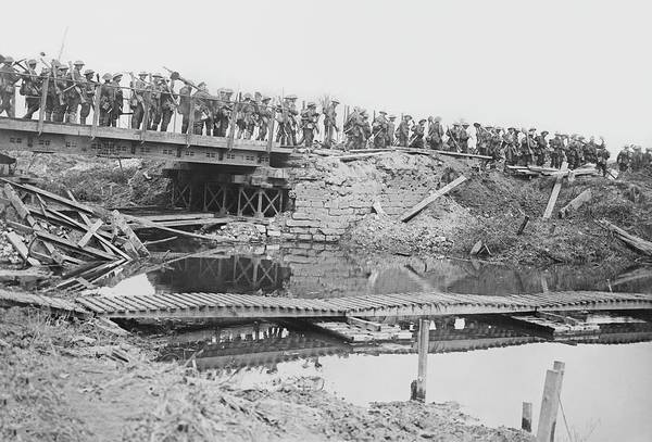 British Armed Forces Photograph - British Military Bridge by Library Of Congress