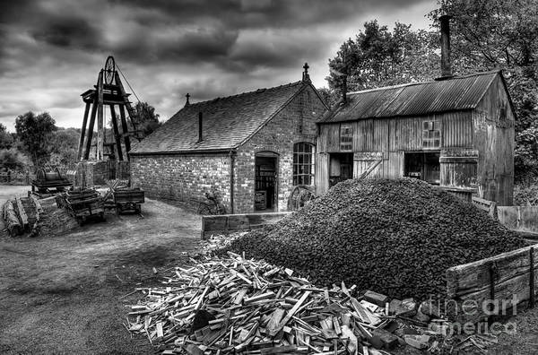 Mining Photograph - British Mine by Adrian Evans