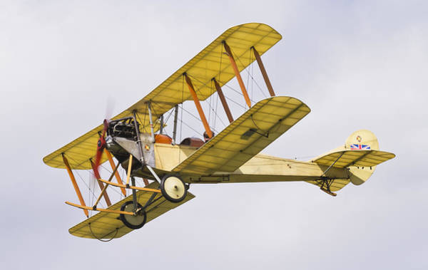 Bleriot Photograph - British Vintage Fighter Plane by Maj Seda