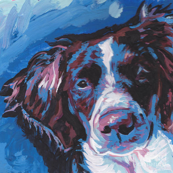 Spaniels Painting - Britt Beauty by Lea S