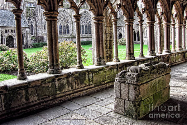 Wall Art - Photograph - Brittany Cloister  by Olivier Le Queinec