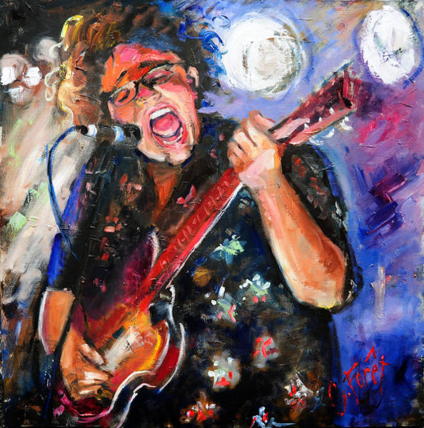 Brittany Howard Of The Alabama Shakes Art Print by Carole Foret