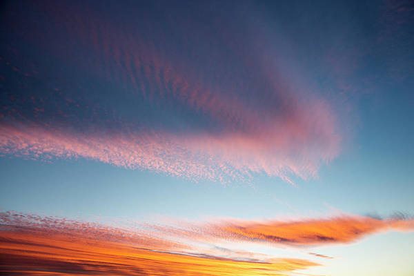 Robbie Photograph - Broad Brushstrokes Of Clouds Paint by Robbie George