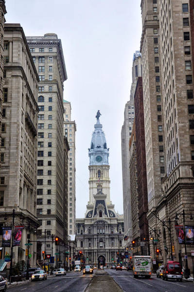 Broad Street Run Photograph - Broad Street In Philadelphia by Bill Cannon