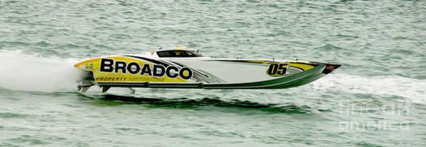 Offshore Wall Art - Photograph - Broadco Race Boat by Jon Neidert