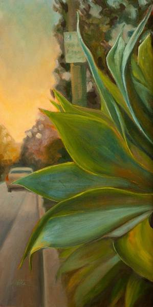 Agave Painting - Broadview West by Athena Mantle
