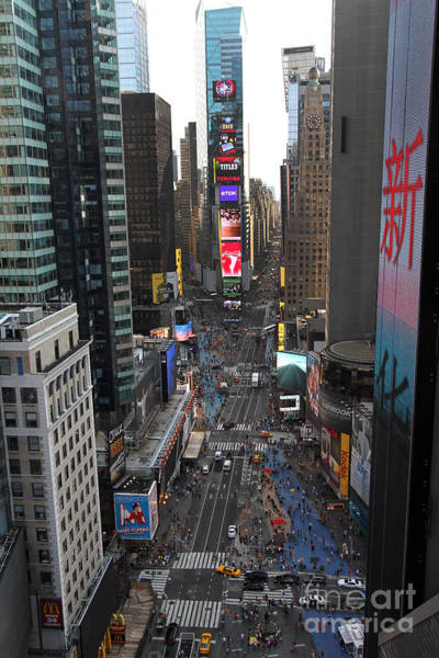 Photograph - Broadway From Above by Steven Spak