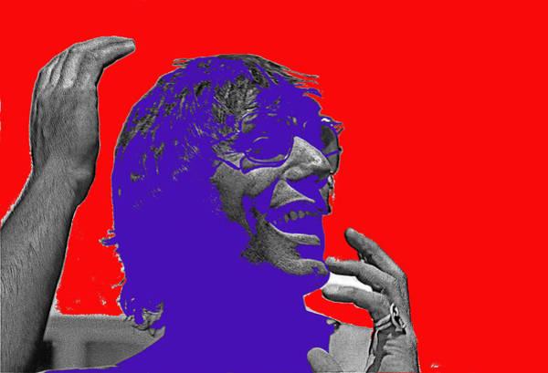 Wall Art - Photograph - Broadway Joe Namath Telling Football Story C.c. And Co. Set  Tucson Arizona 1970-2012 by David Lee Guss