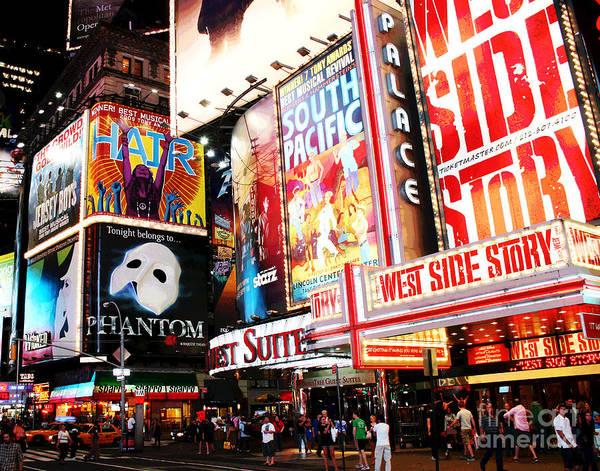 Photograph - Broadway by Larry Oskin