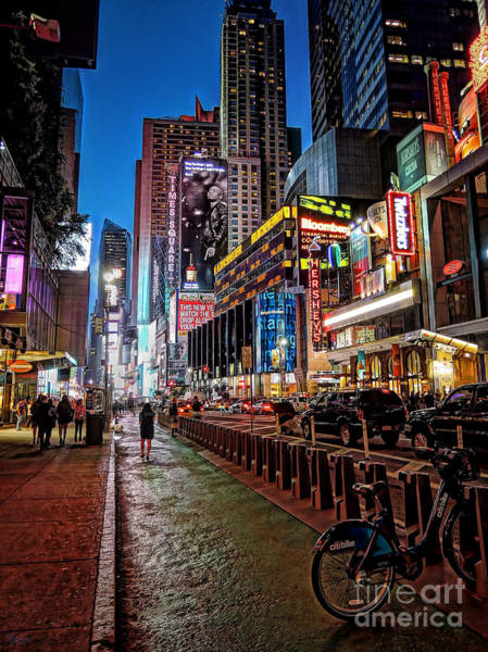 Photograph - Broadway Nyc by Jeff Breiman