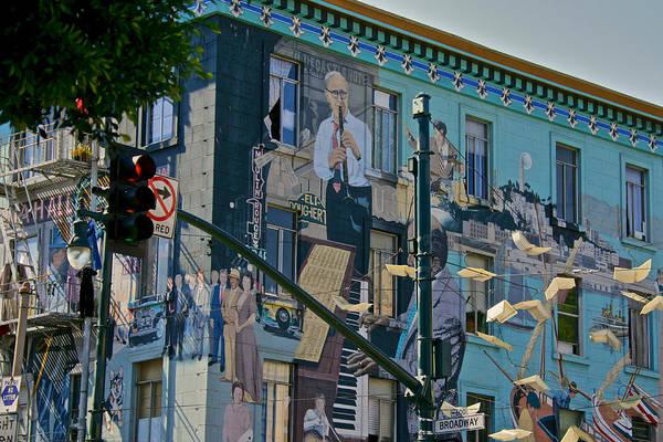 Photograph - Broadway San Francisco by Steven Lapkin