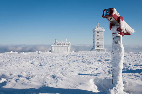 Photograph - Brocken In Winter, Harz by Andreas Levi