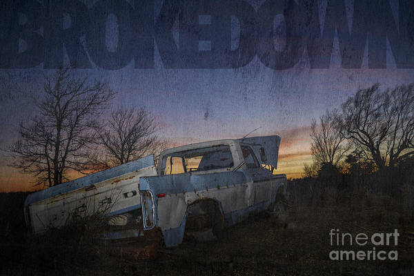 Photograph - Brokedown by Art Whitton