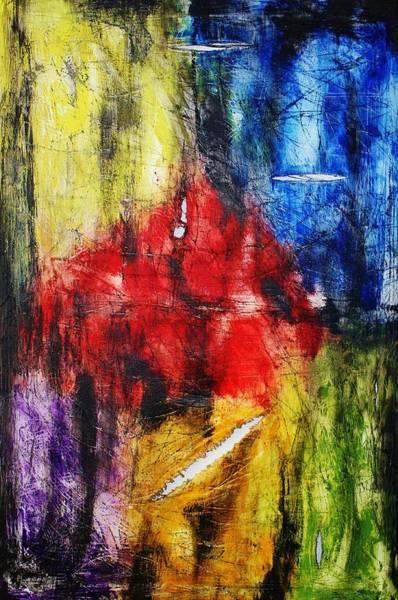 Painting - Broken 4 by Michael Cross
