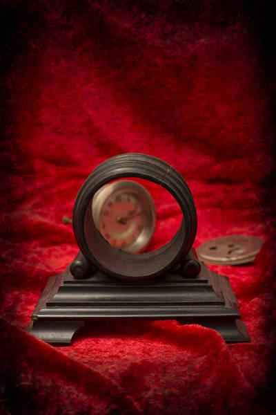 Alarm Clock Photograph - Broken Clock by Amanda Elwell