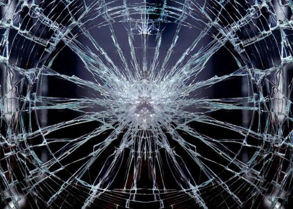 Broken Glass Digital Art - Broken Glass by Gina Dsgn