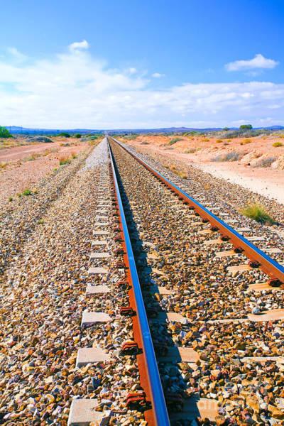 Wall Art - Photograph - Broken Hill Railway Line  by Bill  Robinson