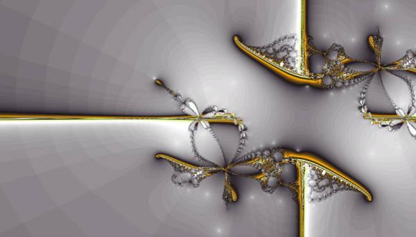 Digital Art - Broken Jewelry-fractal Art by Lourry Legarde