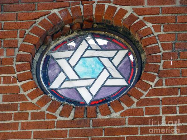 Photograph - Broken Jewish Star by Steven Spak