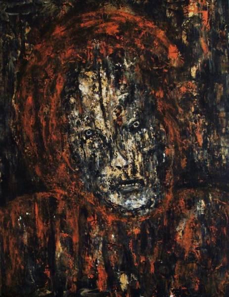 Painting - Broken..... by Katerina Apostolakou