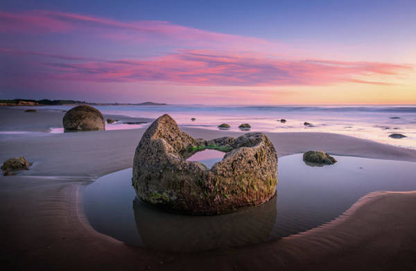New Zealand Photograph - Broken Moeraki by Craig Mcgowan