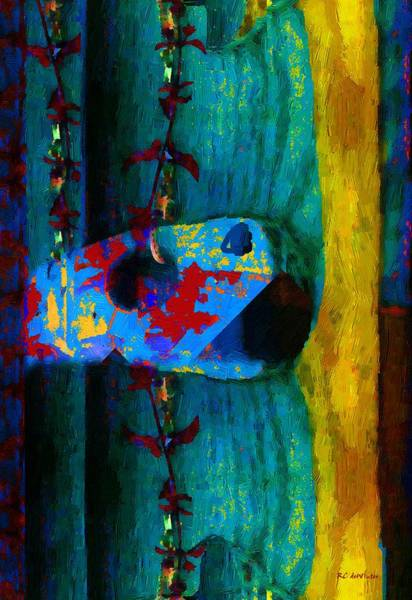 Painting - Broken Music by RC DeWinter