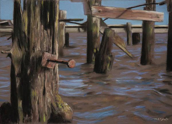 Painting - Abandoned Pier by Christopher Reid